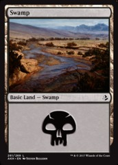 Swamp - Foil (261)(AKH)