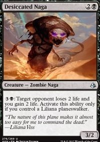 Desiccated Naga - Planeswalker Deck Exclusive