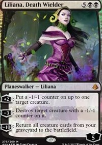 Liliana, Death Wielder - Foil - Planeswalker Deck Exclusive
