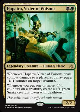 Hapatra, Vizier of Poisons - Foil