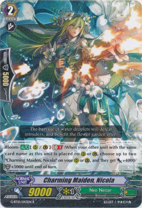 Charming Maiden, Nicola - G-BT10/043EN - R