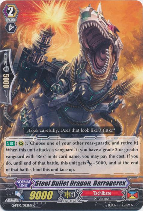 Steel Bullet Dragon, Barragerex - G-BT10/062EN - C
