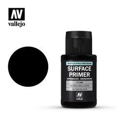 Vallejo Surface Primer - Gloss Black - VAL77660 - 60ml