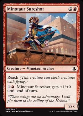 Minotaur Sureshot - Magic Singles » Amonkhet Block