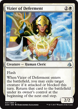 Vizier of Deferment - Foil