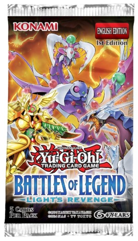 Battles Of Legend: Lights Revenge Booster Pack