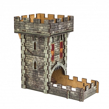 Color Dice Tower