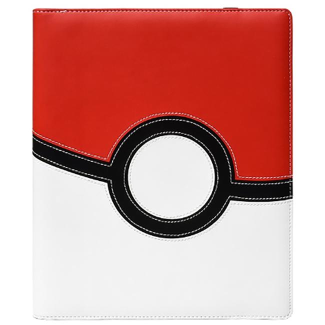 Ultra Pro 9 Pocket Premium Pro Binder Ex: Pokemon - Pokeball