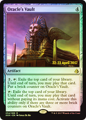 Oracle's Vault - Foil - Amonkhet Prerelease Promo