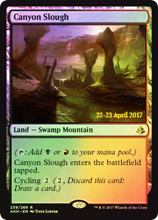 Canyon Slough - Foil - Prerelease Promo