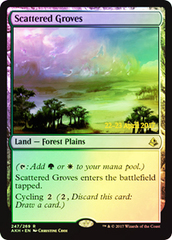 Scattered Groves - Foil - Prerelease Promo