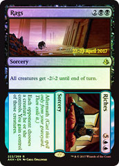 Rags // Riches - Foil - Prerelease Promo