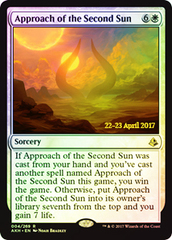 Approach of the Second Sun - Foil - Prerelease Promo