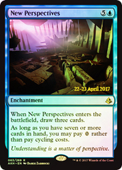 New Perspectives - Foil - Amonkhet Prerelease Promo