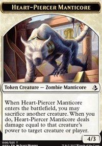 Token - Heart-Piercer Manticore