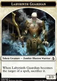 Token - Labyrinth Guardian