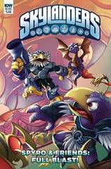 Skylanders Spyro & Friends Quarterly Full Blast Cvr A Lawren