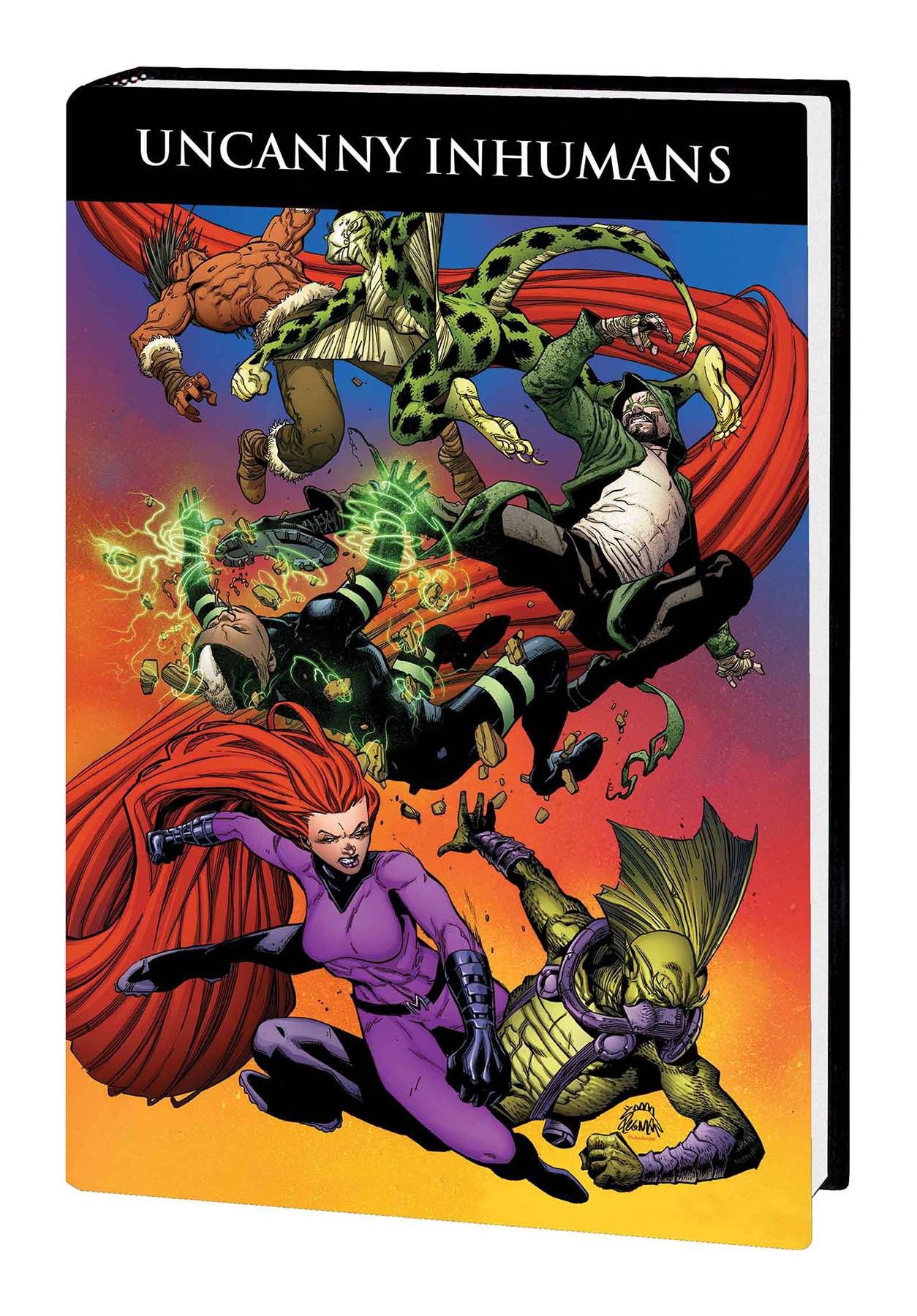 Uncanny Inhumans HC Vol 02