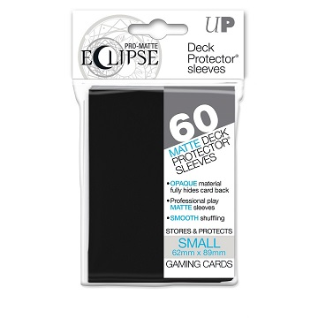 Ultra Pro - Eclipse Black Matte Small Sleeves 60Ct