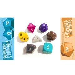 Squishy Dice Set: Set Of 7