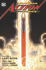 Superman Action Comics Hc Vol 09 Last Rites
