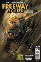 Ian Livingstones Freeway Fighter #1 (Of 4) Cvr C Arocena