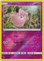 Clefairy  - 88/145  - Common - Reverse Holo