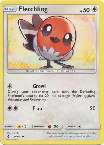 Fletchling - 109/145 - Common
