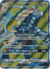 Kommo-o-GX  - 141/145 - Full Art Ultra Rare