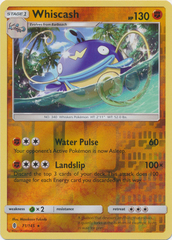 Whiscash  - 71/145  - Rare - Reverse Holo