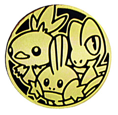 Hoenn Region Starters Collectible Coin (Gold)