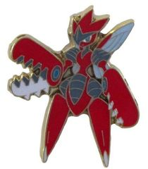 Mega Scizor Pin