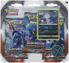 Sun & Moon - Burning Shadows 3 Pack Blister - Alolan Meowth