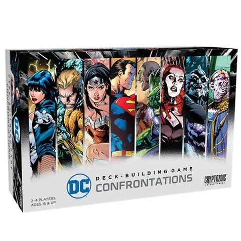 DC Comics - Deck Building Game Confrontations (Clearance)