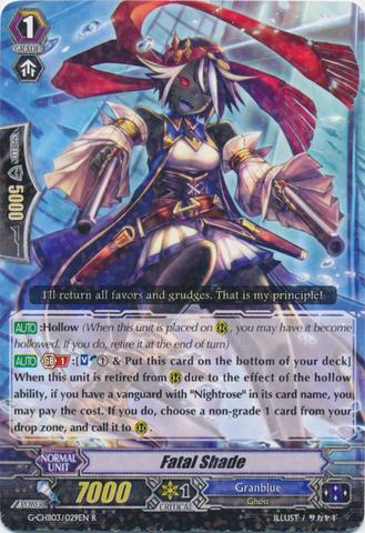 Fatal Shade - G-CHB03/029EN - R
