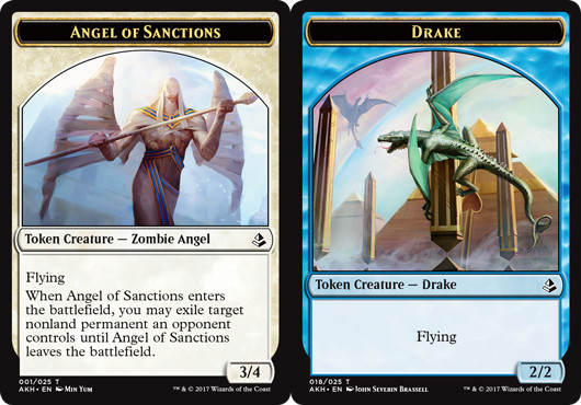 Angel of Sanctions Token // Drake Token
