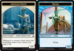 Anointer Priest Token // Drake Token