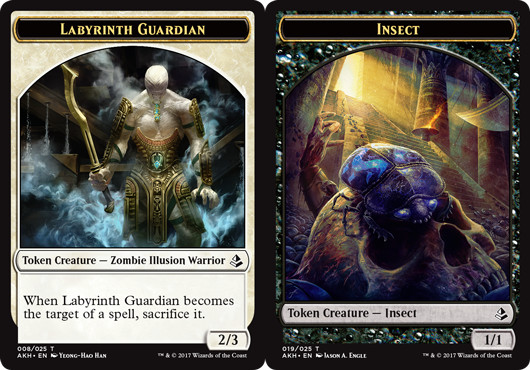 Labyrinth Guardian Token // Insect Token