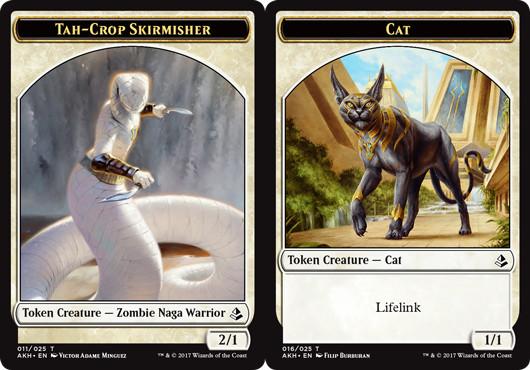 Tah-Crop Skirmisher Token // Cat Token