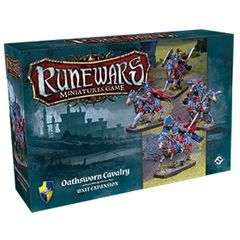 Runewars Miniatures Game: Oathsworn Cavalry Unit Expansion Pack