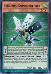 Speedroid Dominobutterfly - DPDG-EN004 - Ultra Rare - 1st Edition on Channel Fireball