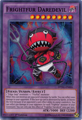 Frightfur Daredevil - DPDG-EN006 - Super Rare - 1st Edition on Channel Fireball