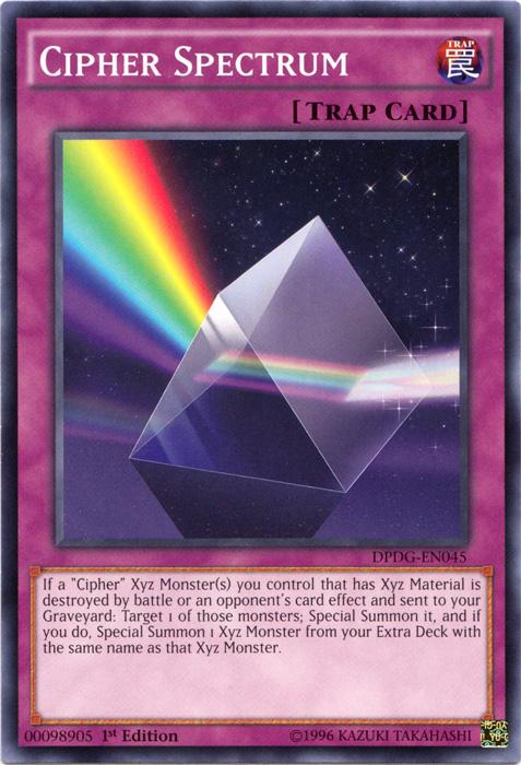 Cipher Spectrum - DPDG-EN045 - Common - 1st Edition