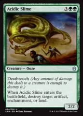 Acidic Slime on Channel Fireball
