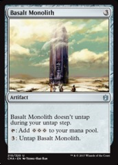 Basalt Monolith on Channel Fireball