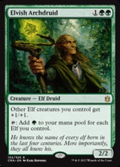 Elvish Archdruid on Channel Fireball