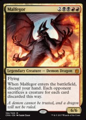 Malfegor on Channel Fireball