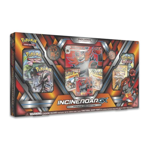 Incineroar GX Premium Collection