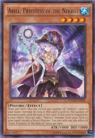 Ariel, Priestess of the Nekroz - MACR-EN031 - Rare - Unlimited Edition