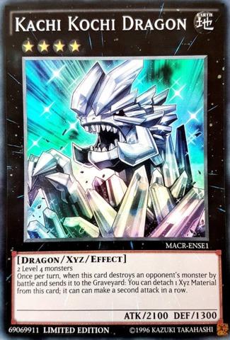 Kachi Kochi Dragon - MACR-ENSE1 - Super Rare - Limited Edition